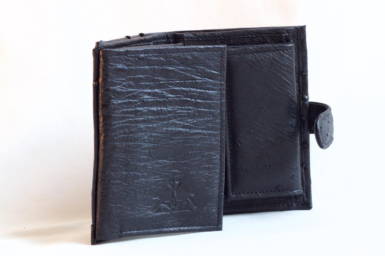 Must rahakott jaanalinnunahast