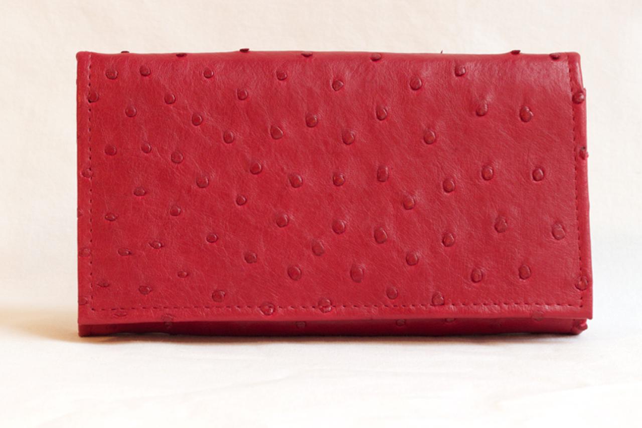 Punane rahakott jaanalinnunahast