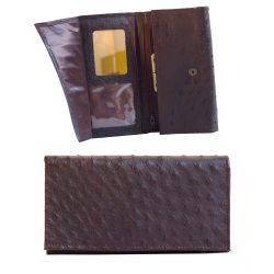 Tumepruun rahakott