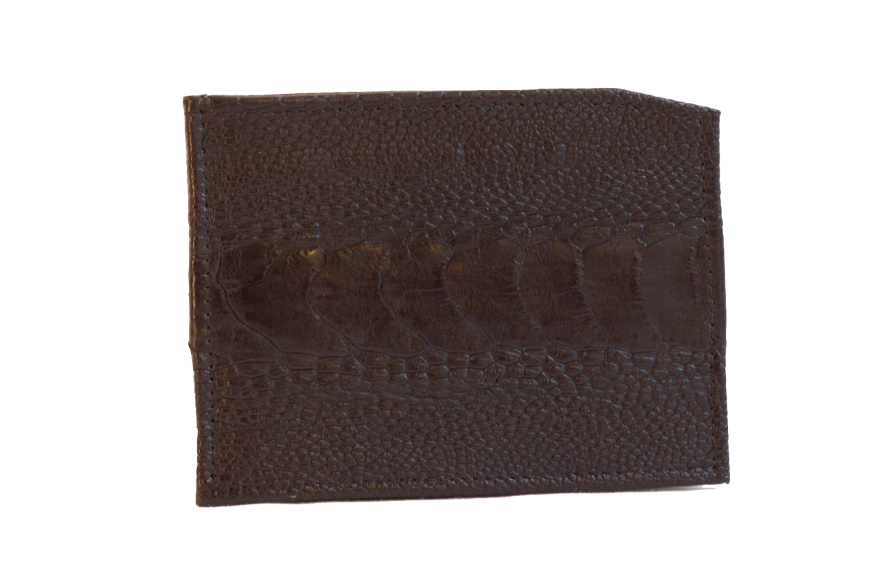 Klambriga rahakott must jaanalinnunahast
