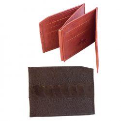 Klambriga rahakott pruun